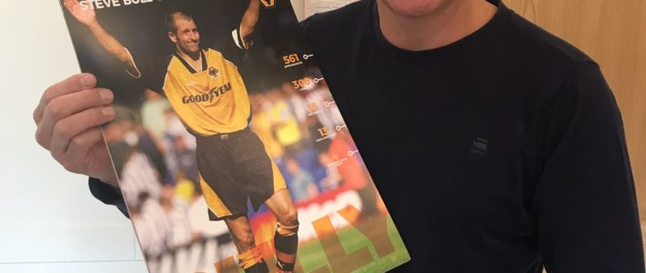 Competition: Your chance to win an official Steve Bull Wolves calendar