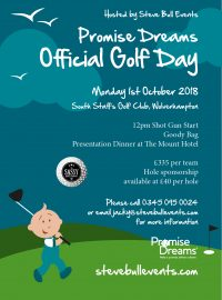 Promise Dreams Golf Day 2018