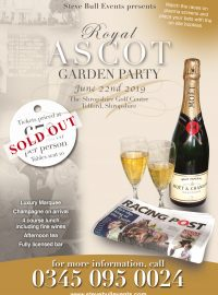 Royal Ascot Garden Party – Sold Out