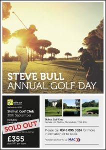 Steve Bull Annual Golf Day